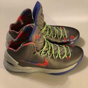 Nike kd 5's splatter size 12